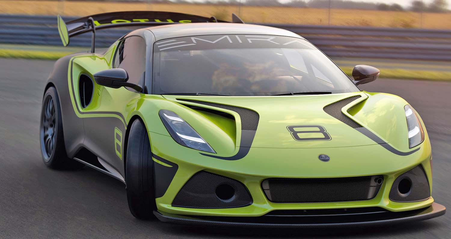 The New Lotus Emira GT4 – From The Road To The Racetrack