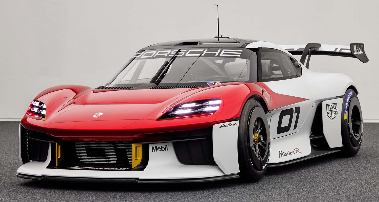 Porsche Mission R Concept (2021)