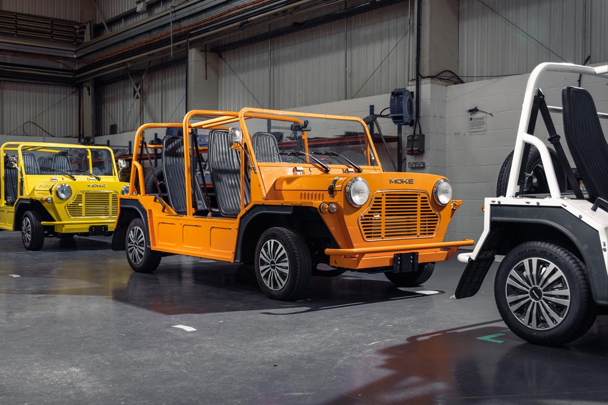 Moke Comes Home With Production Facility In UK's Automotive Heartland