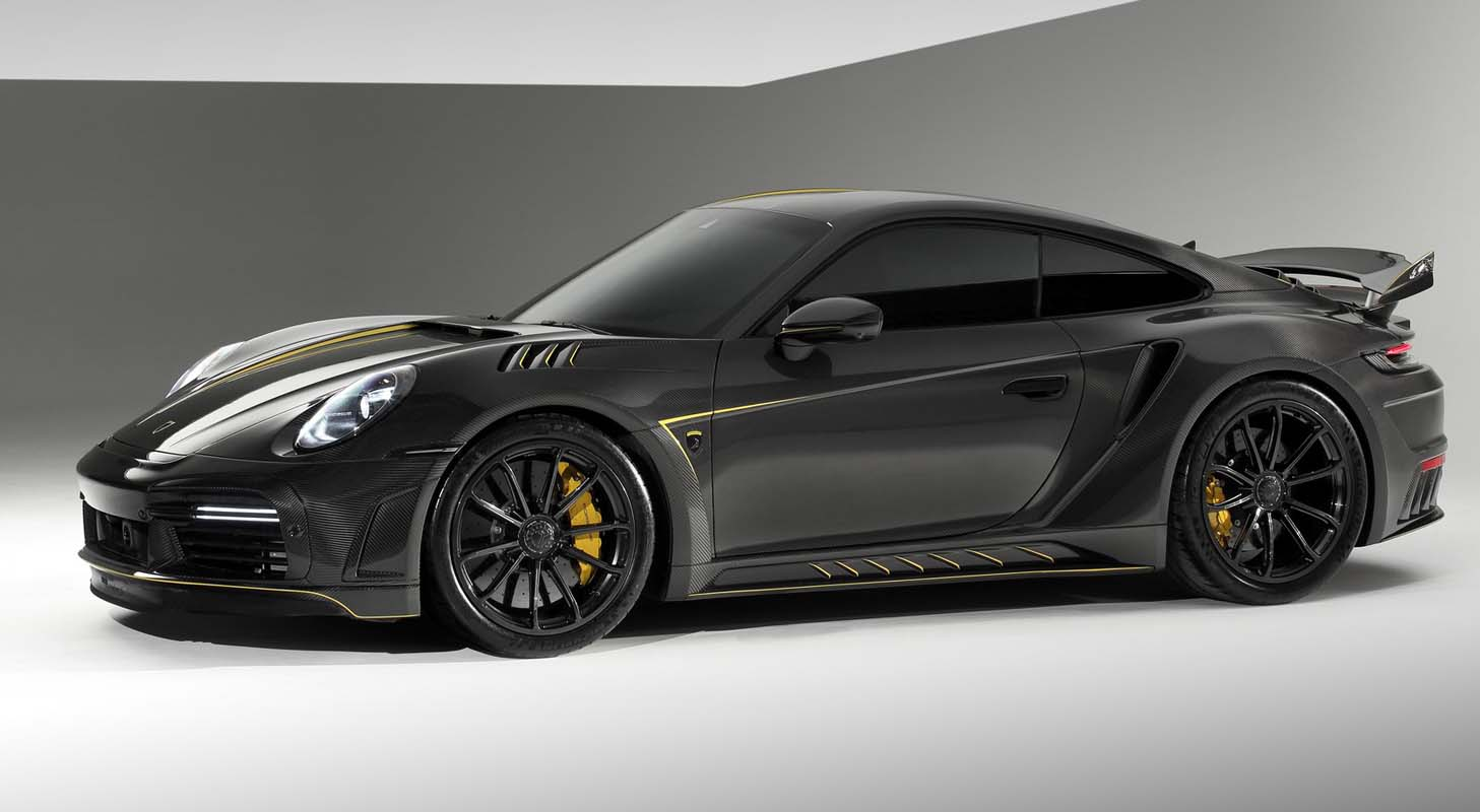 Porsche 992 Stinger GTR Limited Carbon Edition by TopCar Design