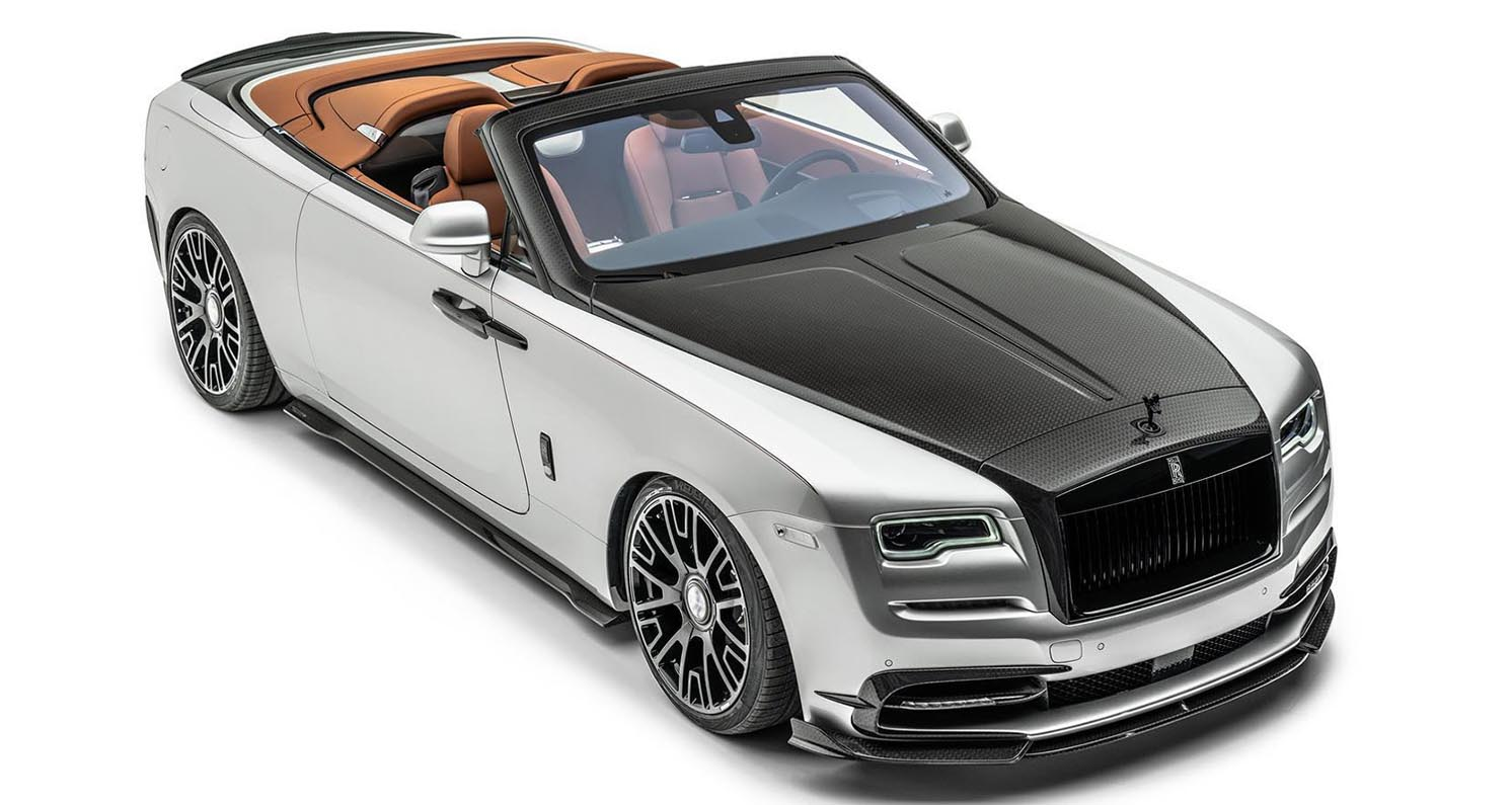 """MANSORY Presents New """"Softkit"""" Based On The Rolls-Royce Dawn """"Silver Bullet"""""""