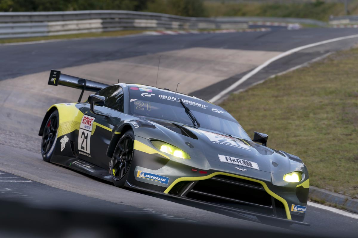 Aston Martin Records First Overall Victory On The Nurburging Nordschleife