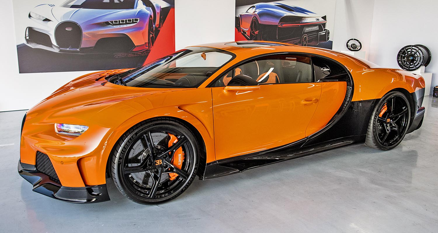 Bugatti Chiron Super Sport – Customers Experience The New Hyper Sports Car For The First Time