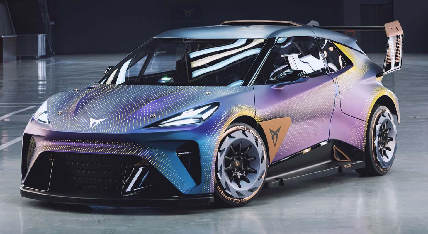 World Premiere Of The Cupra UrbanRebel Concept: Company Most Rebellious Interpretation Of An Urban Electric Car