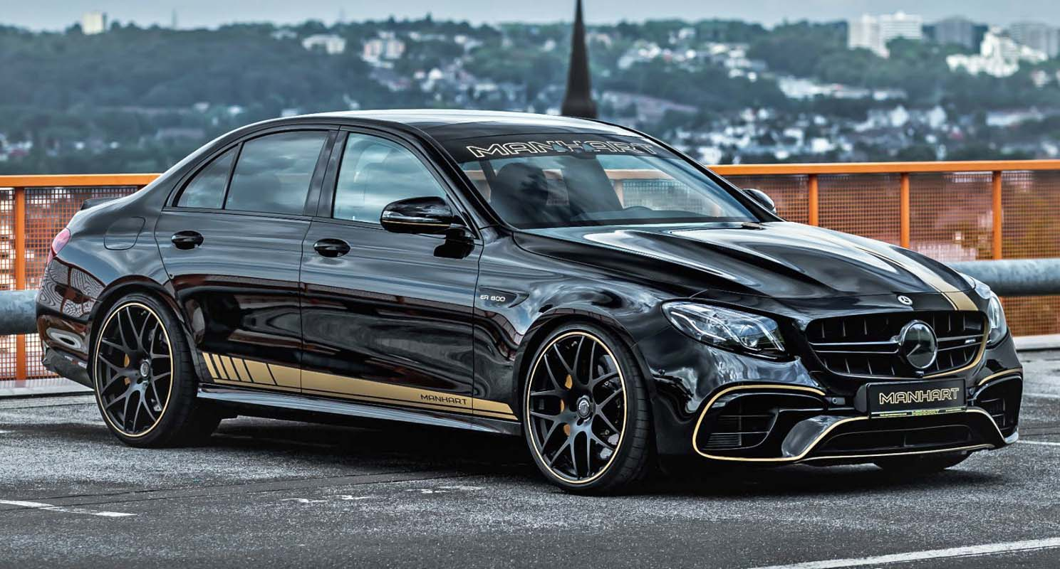 Mercedes AMG Manhart ER 800 – Sports Saloon With More Than 800 HP