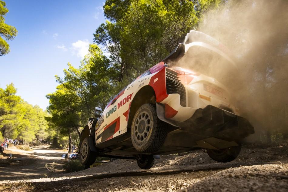 WRC – Breaking News – Masterful Rovanperä Wins Acropolis Rally Greece