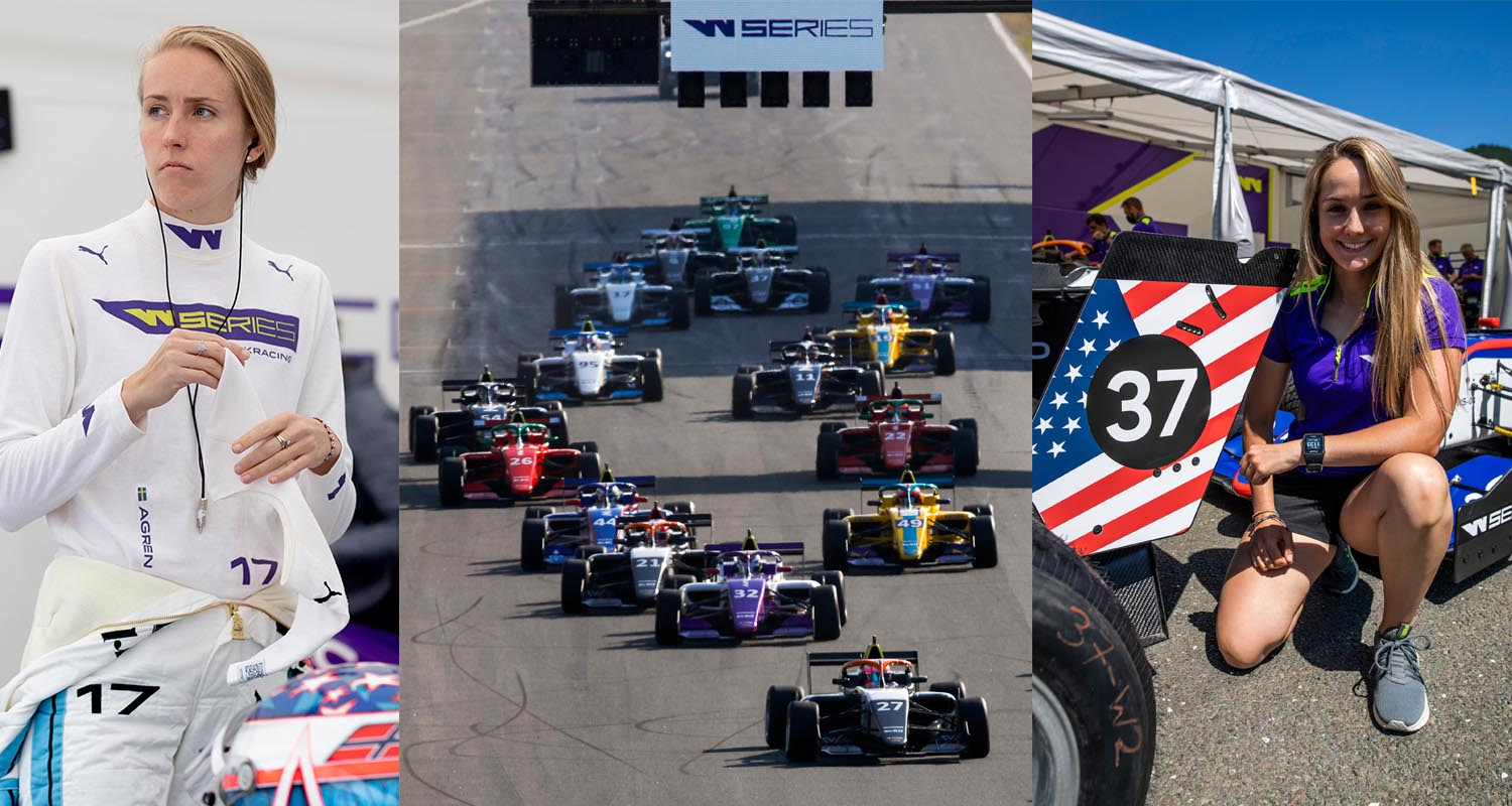 W Series Goes Bigger In Texas For Spectacular Season Finale