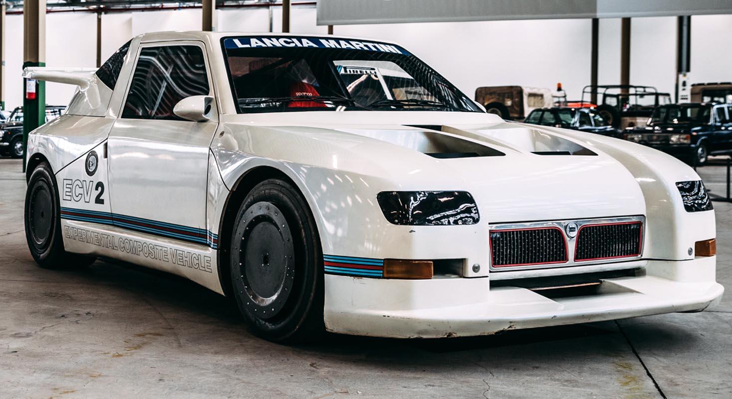 """The Lancia ECV2 Prototype Stars In The """"Fuori Concorso"""" Event"""