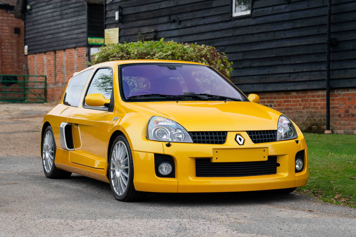 Ultra Rare Renault Clio V6 With Under 1,000 Miles Set To Break Auction Sales Record