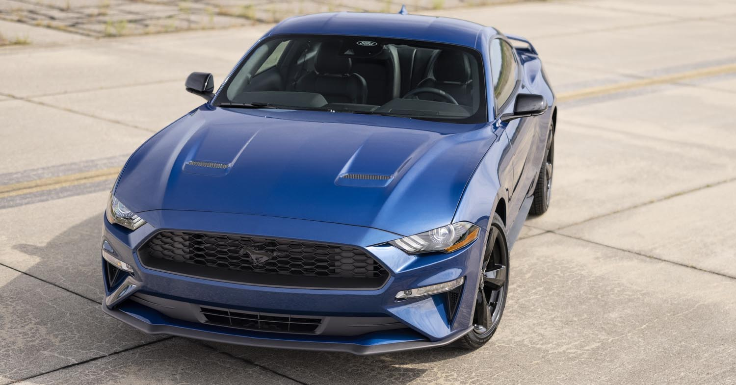 2022 Ford Mustang Debuts First-Ever Stealth Edition, Adds Gt Performance Package Option To California Special