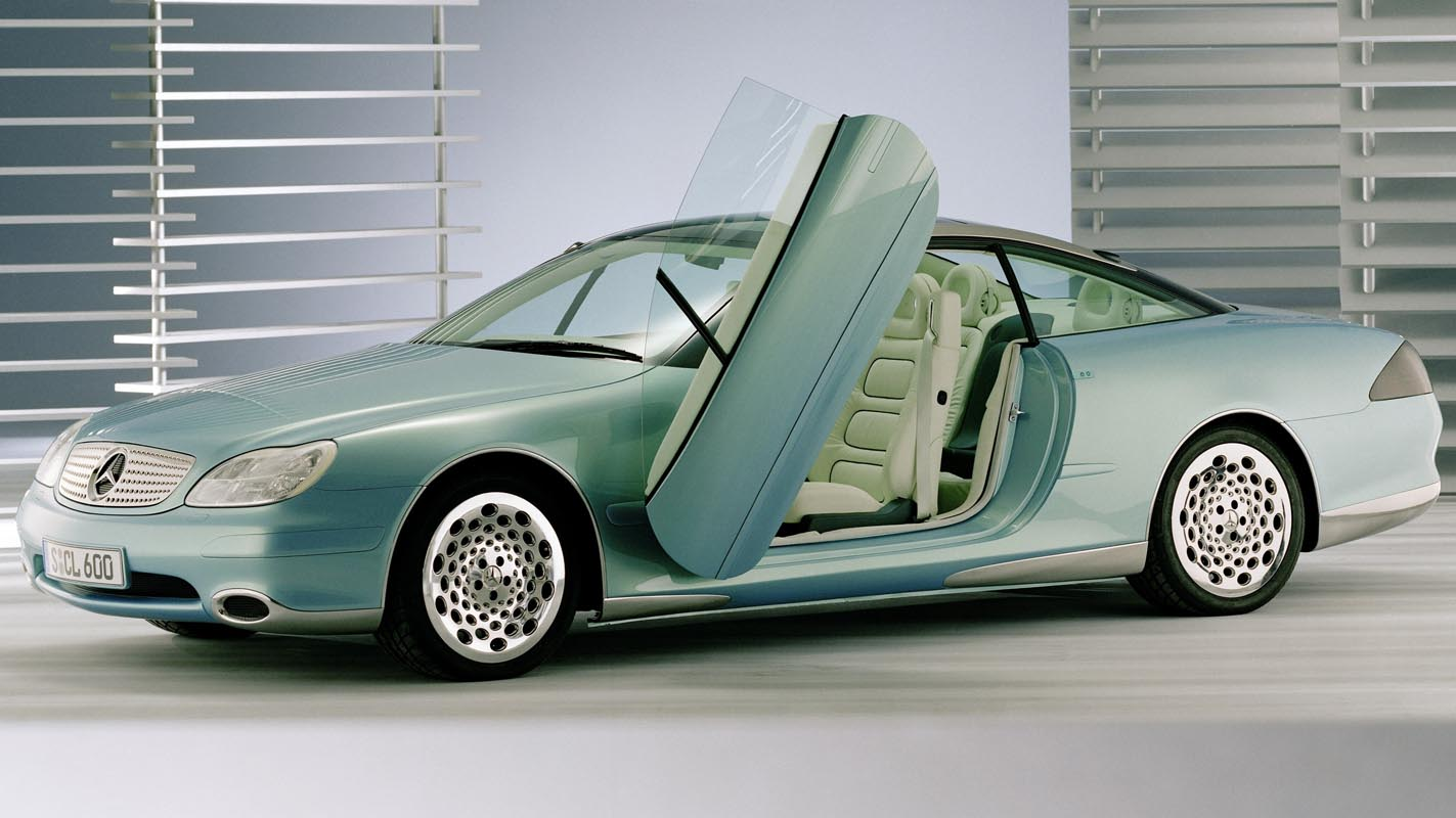 The Future Came One Step Closer In 1996: Mercedes-Benz F 200 Imagination
