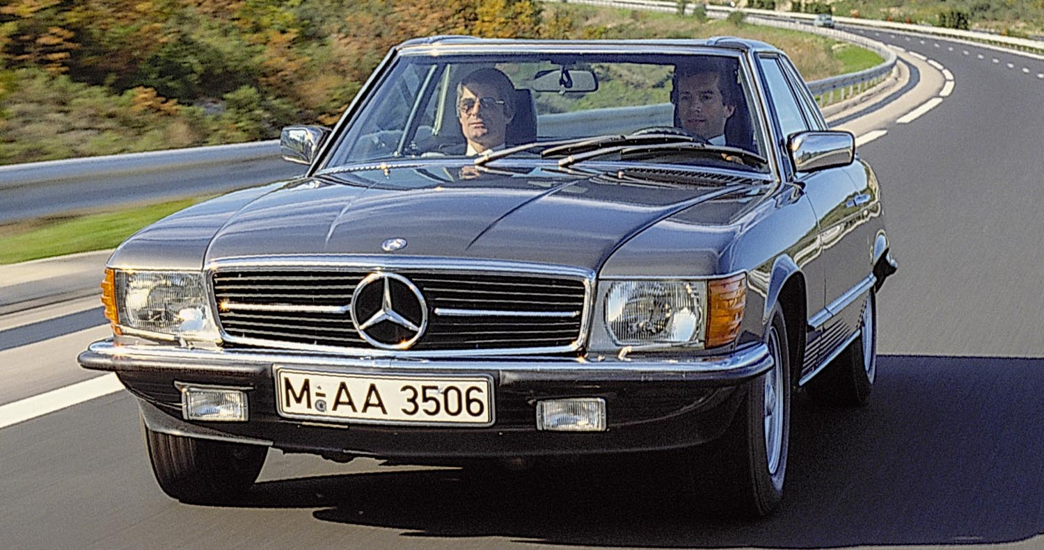 Mercedes-Benz SLC In 1971 – Elegant Coupé With S-Class Standards