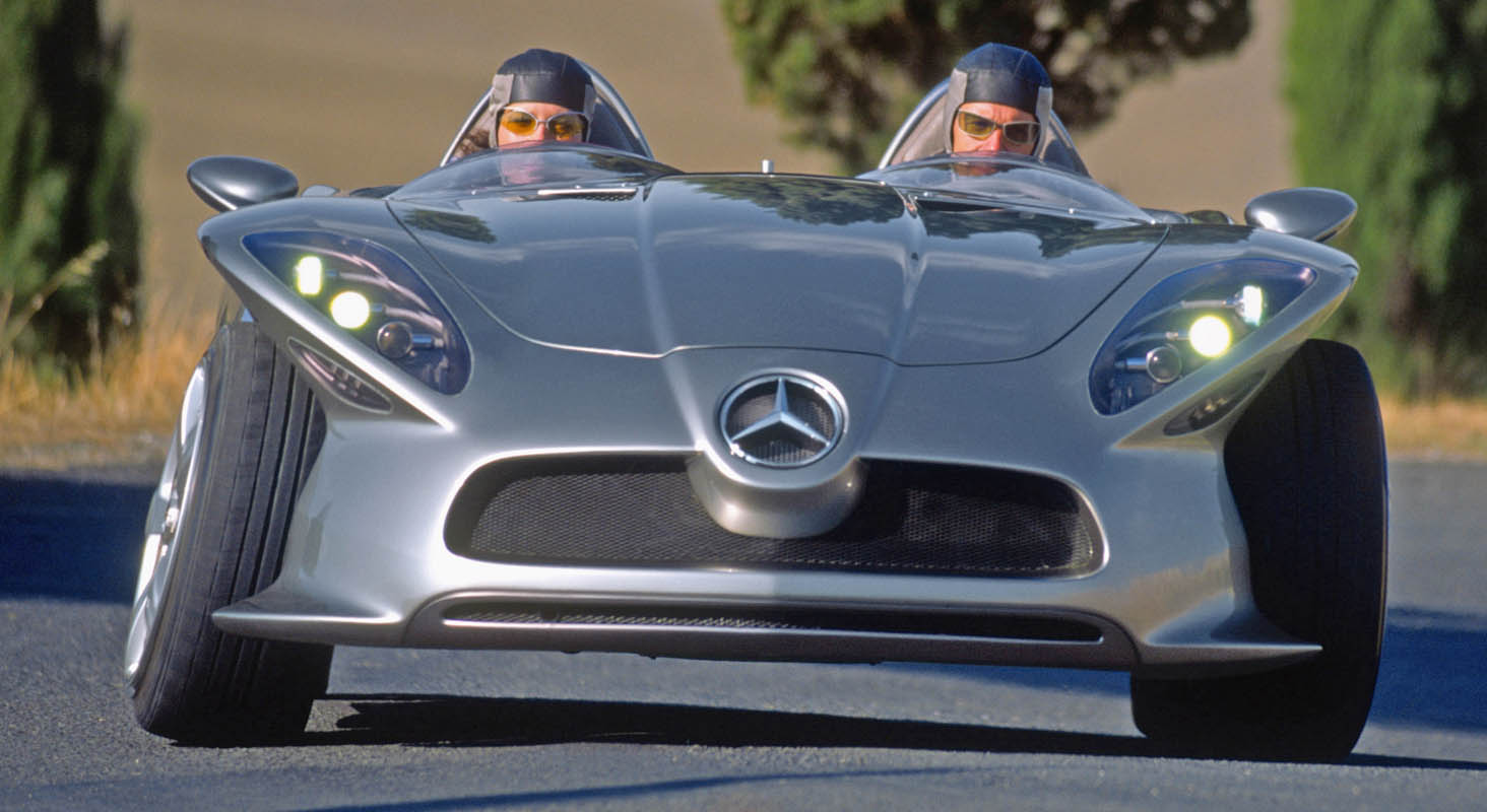 Agile Innovator 20 Years Ago: Mercedes-Benz F 400 Carving Research Vehicle