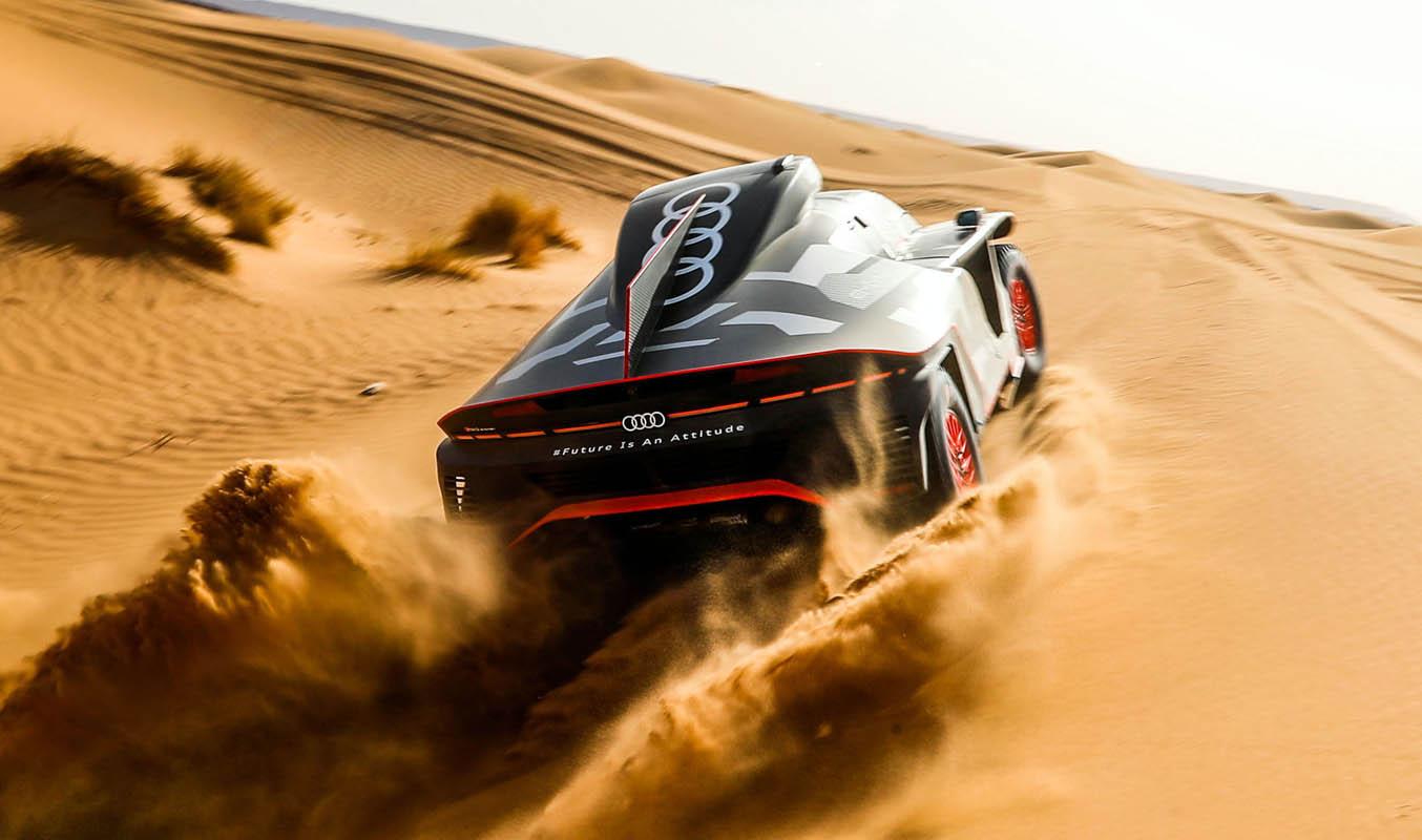 """Stéphane Peterhansel On The Audi RS Q e-tron: """"Enormous Driving Dleasure"""""""