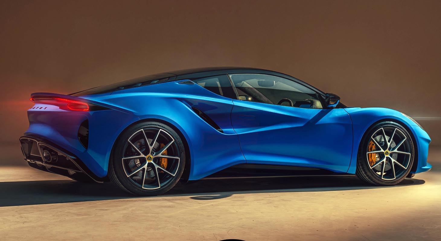 Lotus Named 'Manufacturer Of The Year' At Prestigious News UK Motor Awards
