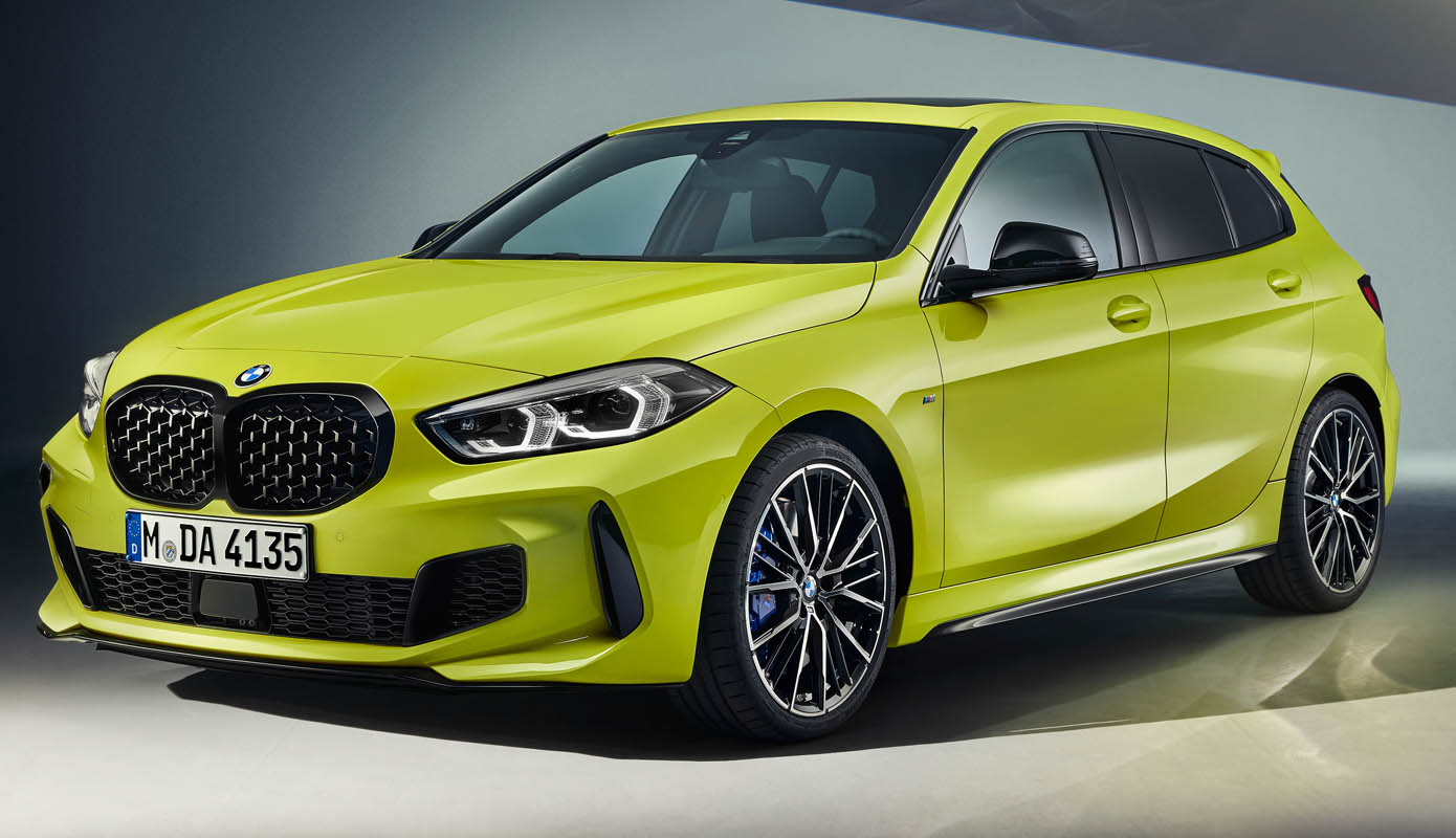 The BMW M135i XDrive – A Compact Four-Cylinder Sporting Powerhouse With Even Sharper Dynamics.