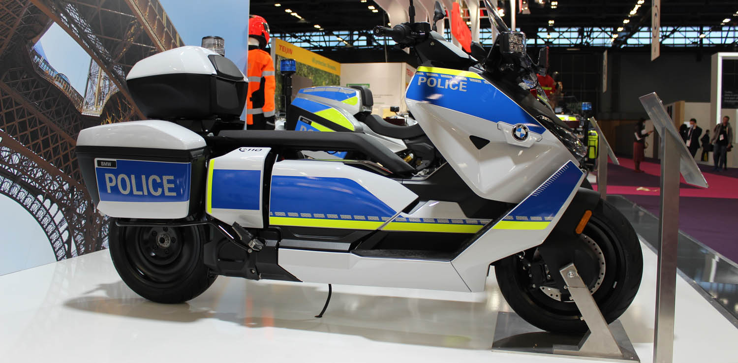 BMW Motorrad Celebrates World Premieres At Milipol 2021 From 19 To 22 October In Paris.