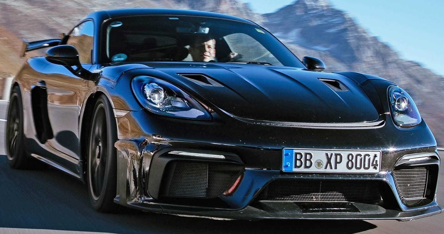 New Porsche 718 Cayman GT4 RS (2022) Excels During Final Testing