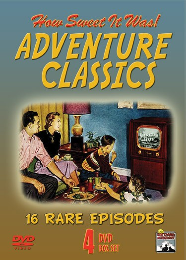 Adventure Classics is a collection of early TV adventure shows.