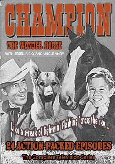 The Adventures of Champion collection includes 21 wonderful episodes in a 6 DVD set.