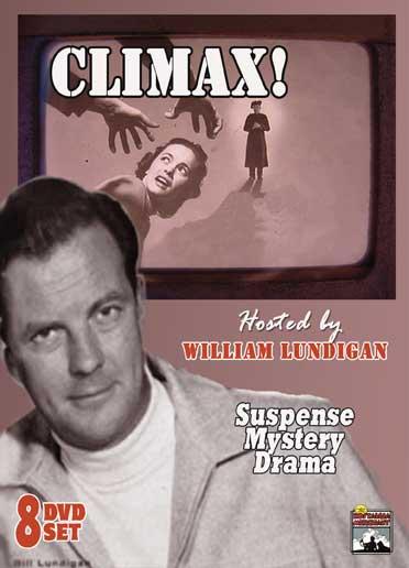 Climax! Full-Length episodes = 8 DVD Set.