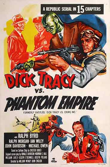 Dick Tracy vs. Phantom Empire - 15 Chapters