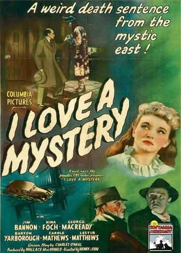 I Love a Mystery - Rare Classic Movie