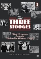 "The Three Stooges - Vol. 3 - ""Rare Treasures from the Columbia Pictures Vault"" offers a rare insider's look at the expansive careers of the entire Three Stooges."