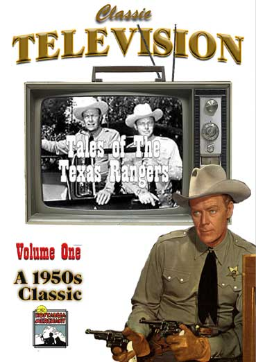Tales of the Texas Rangers - Vol. 4 rare TV Shows.
