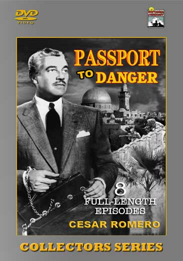 Passport to Danger - The adventures of a U.S. diplomatic courier Steve McQuinn, as he travels to distant countries with top secret communiques. Classic TV Shows
