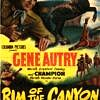 Rim of the Canyon starring Gene Autry