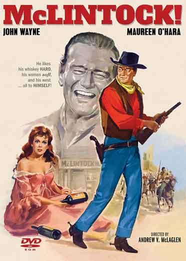 McLintock - starring John Wayne