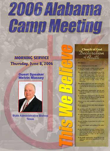 2006 Alabama Camp Meeting with Melvin Massey