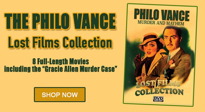 The Philo Vance Films Collection