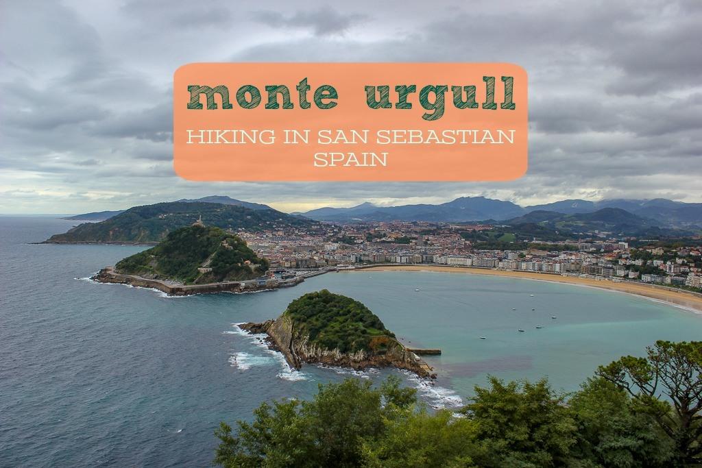 Monte Urgull Hiking San Sebastian Spain by JetSettingFools.com