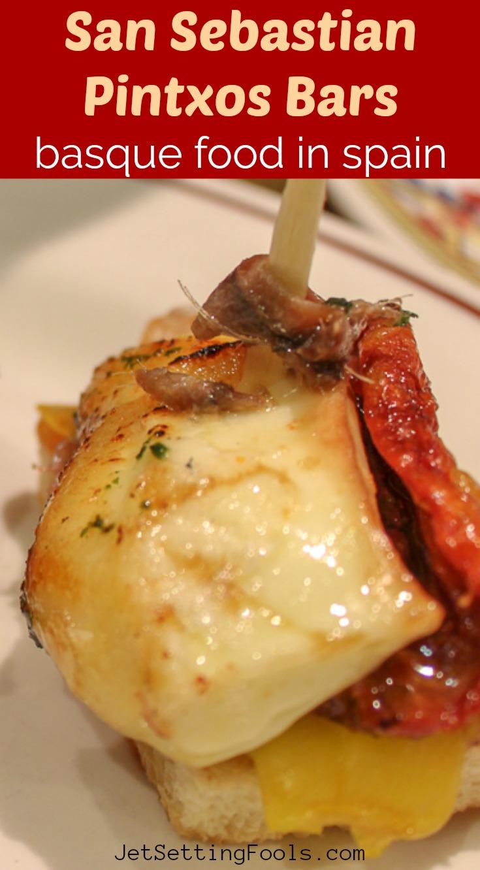 San Sebastian pintxos Bars Basque Food In Spain by JetSettingFools.com