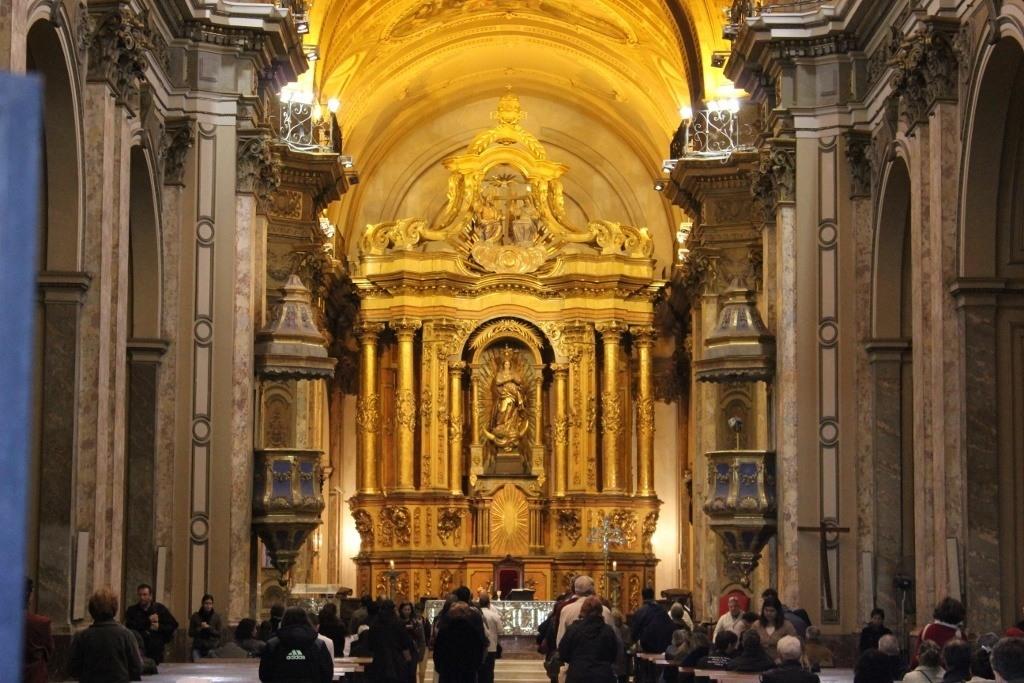 Catedral Metropolitana on Plaza de Mayo, Buenos Aires, Argentina
