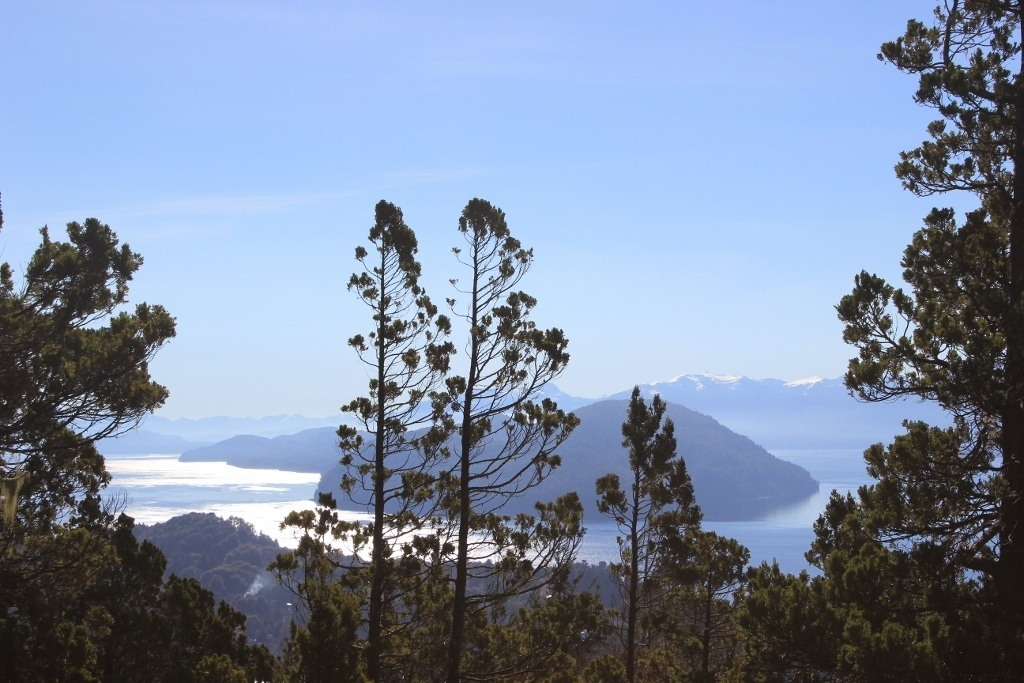 Viewpoints from our hike up Cerro Campanario in Bariloche, Argentina