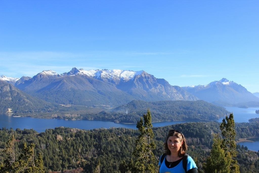 Sarah at Cerro Campanario in Bariloche, Argentina