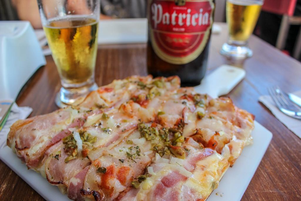 Uruguayan Pizza in Montevideo, Uruguay