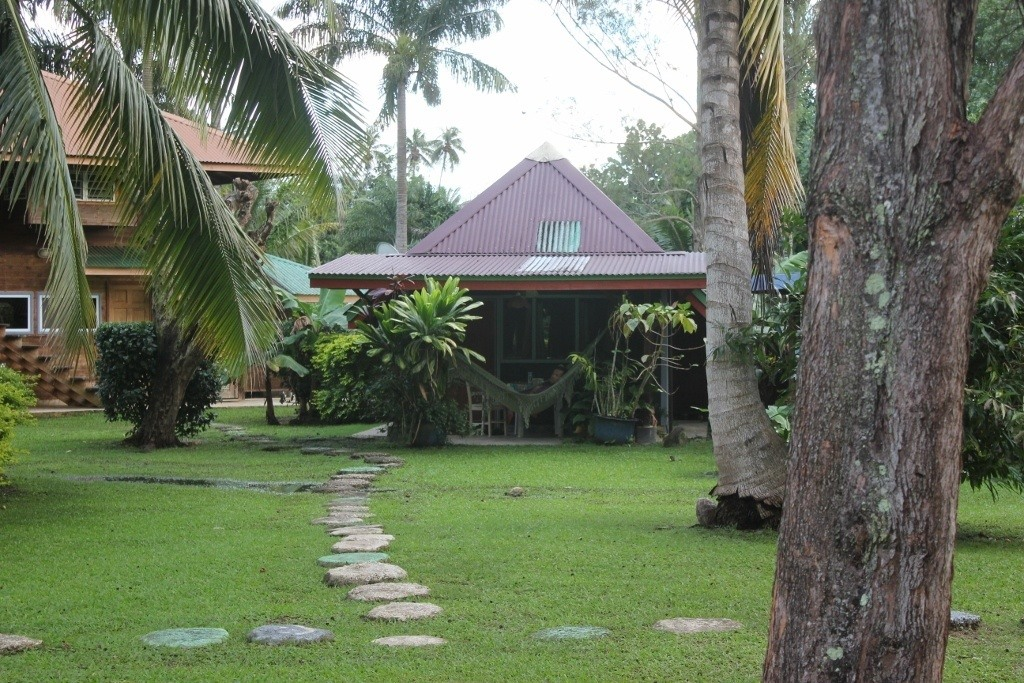 Mark's Place budget accommodations on Moorea, French Polynesia