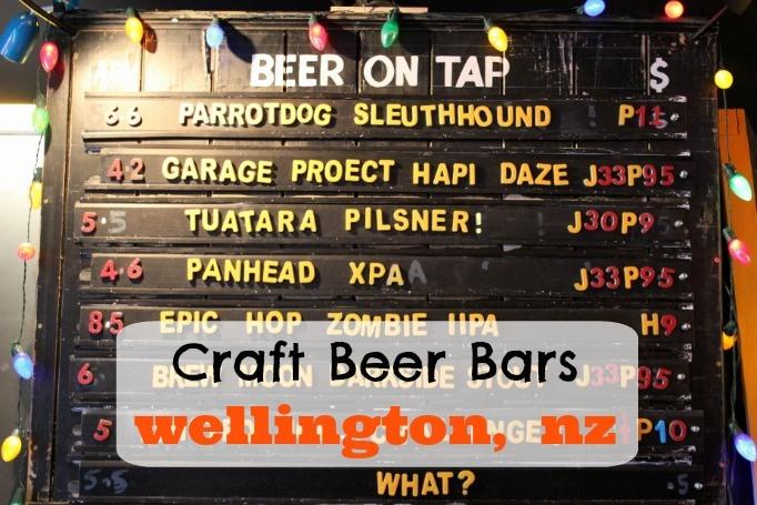 Craft Beer in Wellington, New Zealand