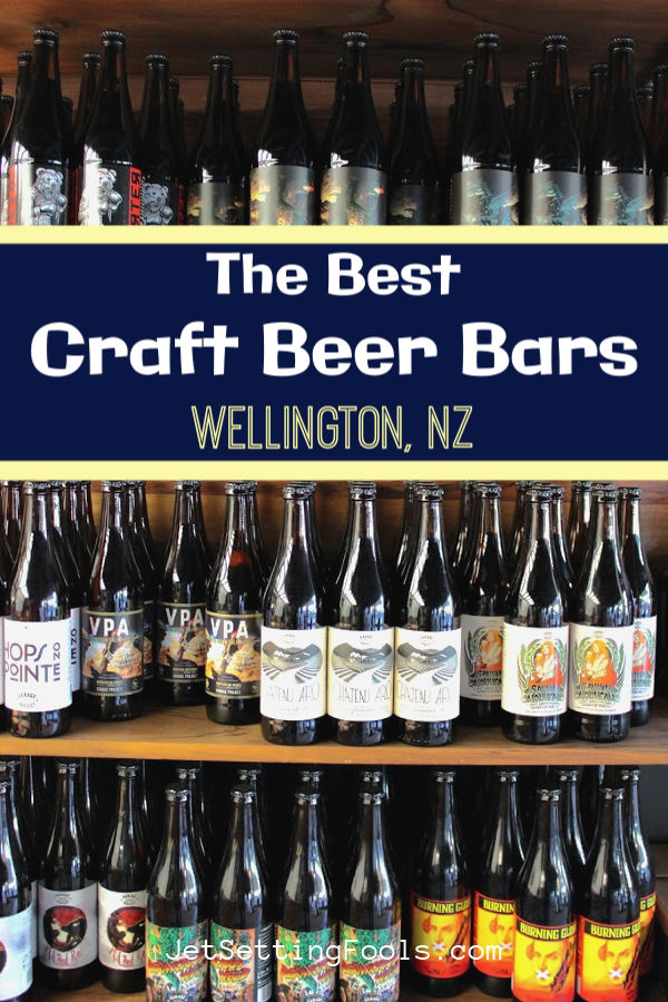 The Best Craft Beer Bars in Wellington, NZ by JetSettingFools.com