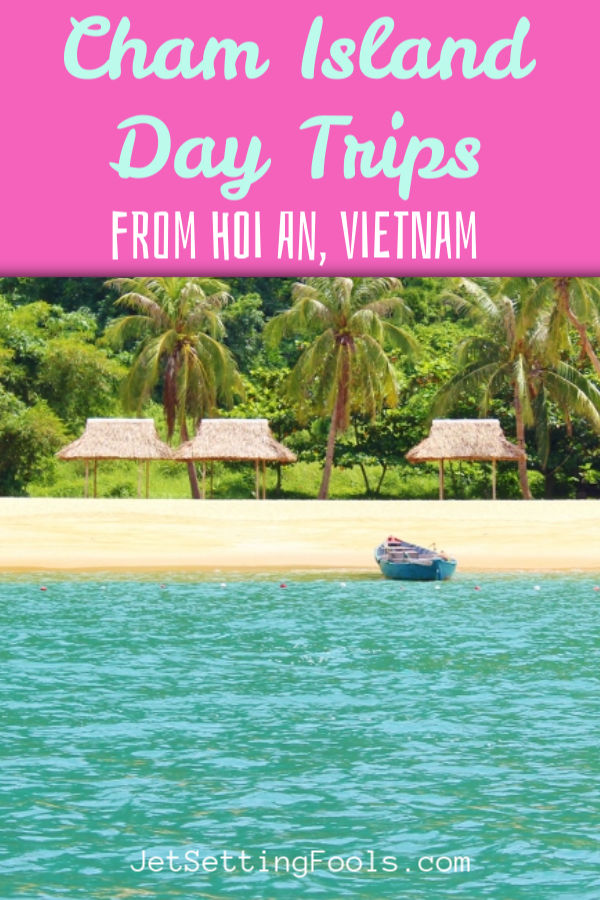 Cham Island Day Trips from Hoi An, Vietnam by JetSettingFools.com