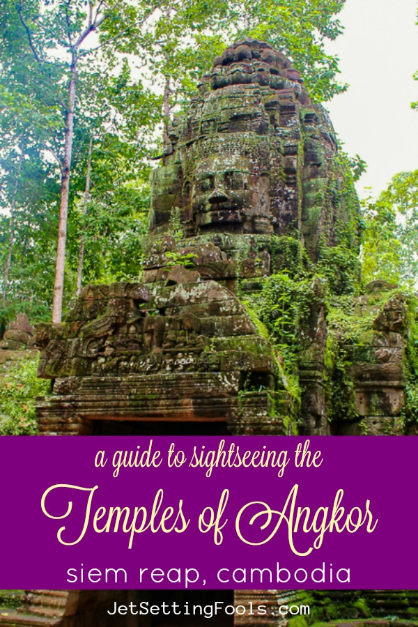 A Guide to Sightseeing the Temples of Angkor in Siem Reap, Cambodia by JetSettingFools.com