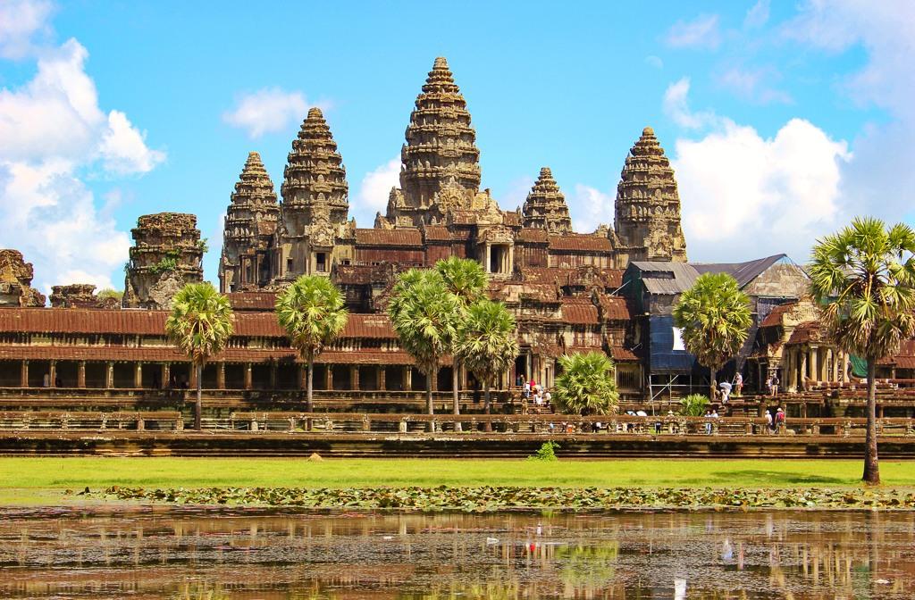 Angkor Wat Temple at Angkor Park in Siem Reap, Cambodia