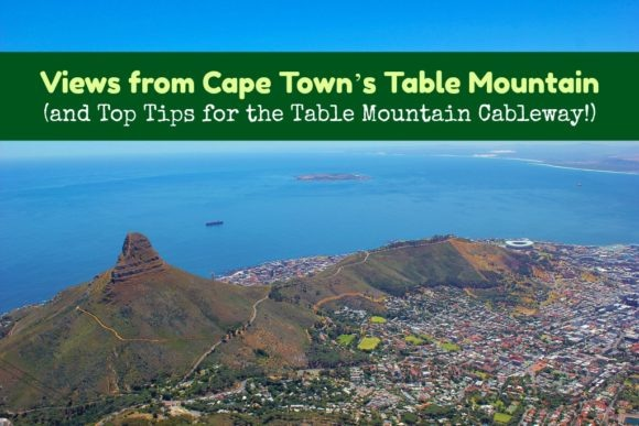 Views from Cape Town's Table Mountain and top tips for the Table Mountain Cableway by JetSettingFools.com