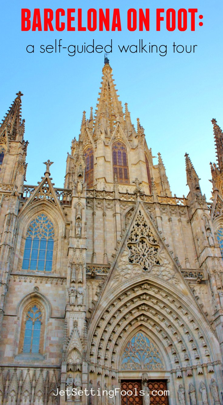 Barcelona On Foot Walking Tour by JetSettingFools.com
