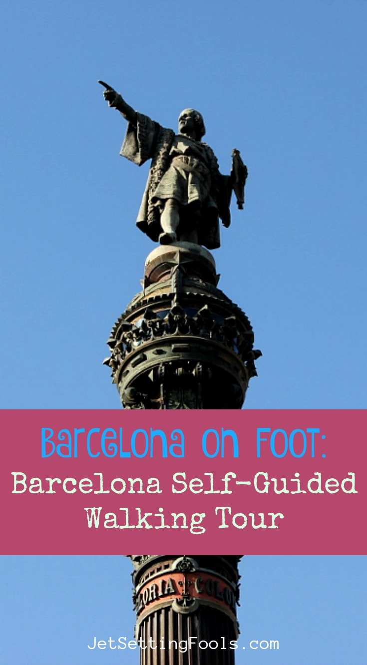 Barcelona Self Guided Walking Tour by JetSettingFools.com