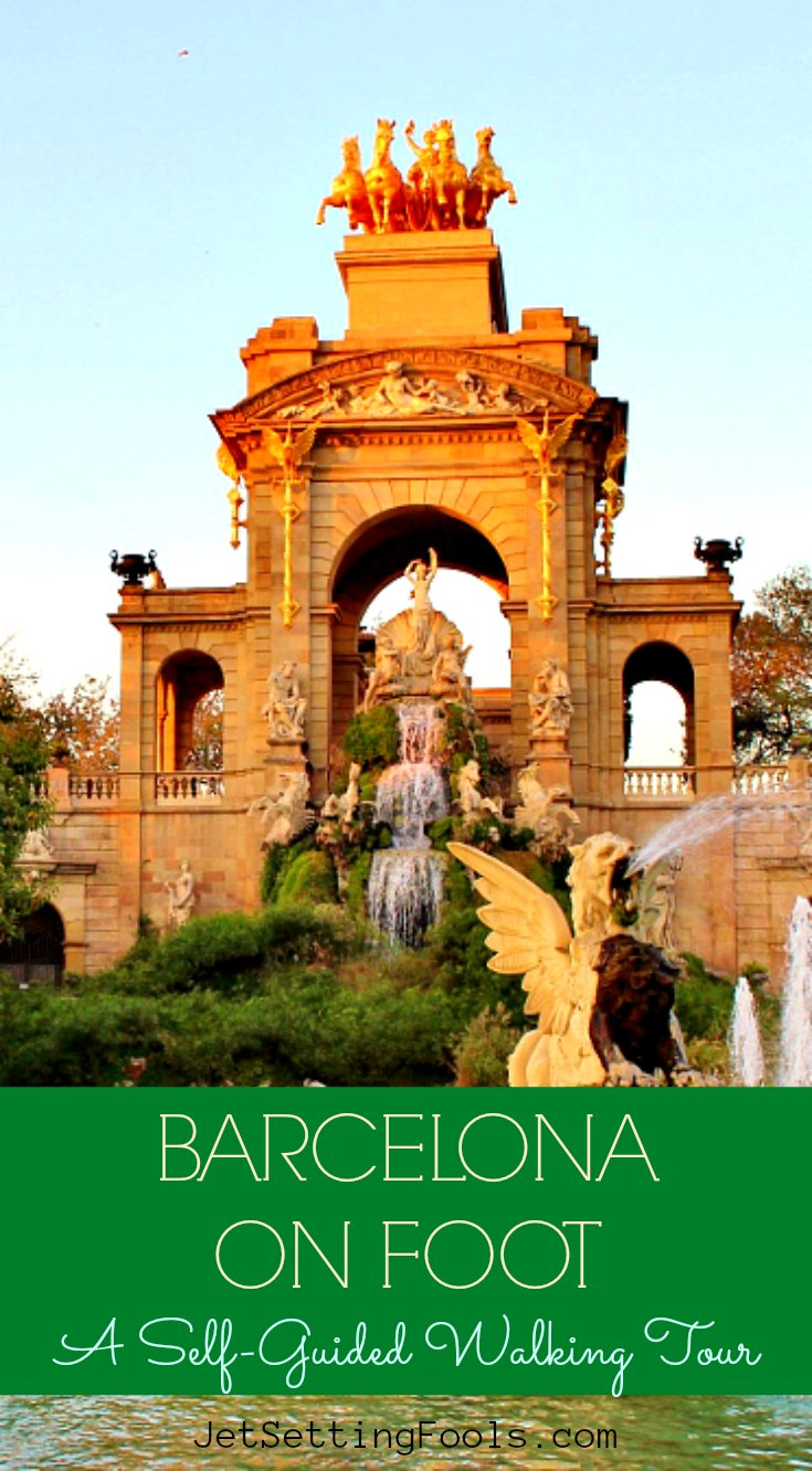 Barcelona on Foot by JetSettingFools.com